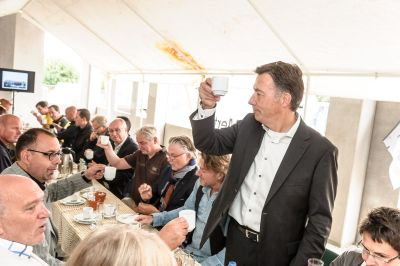 Officiele start bouw Brede School West-toast